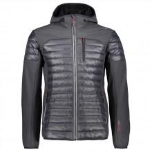 Cmp Man Jacket Fix Hood Hybrid